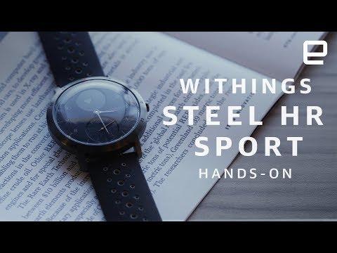 Withings Steel HR Sport Hands-on