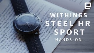 Withings Steel HR Sport Hands-on