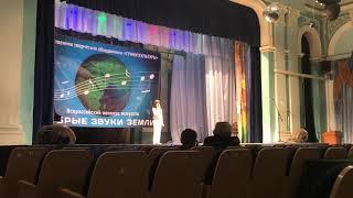 Арсенян Давид. Выступление на конкурсе « Добрые звуки земли- «Полёт на дельтаплане»