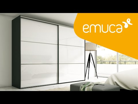 How to mount the Placard 74 sliding system for wardrobes with sliding doors – Emuca