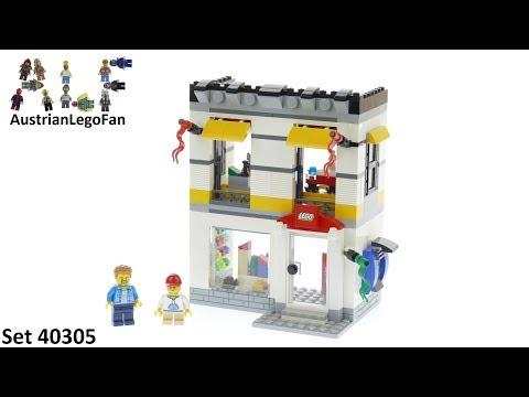 Vidéo LEGO Objets divers 40305 : Magasin LEGO miniature