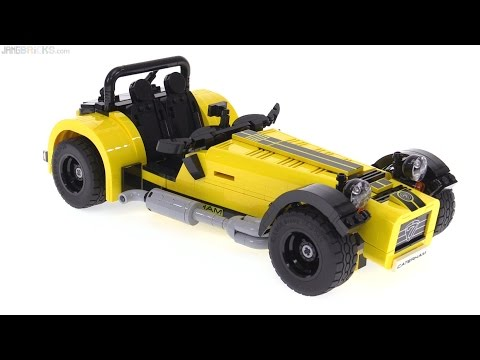 LEGO Ideas Caterham Seven review! 21307