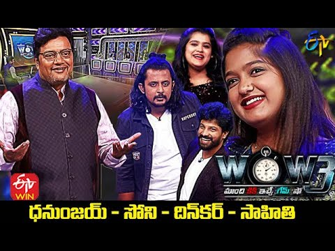 Wow 3   Dhanunjay,Sony,Dinakar,Sahithi (Singers)   4th May 2021   Full Episode   ETV Telugu