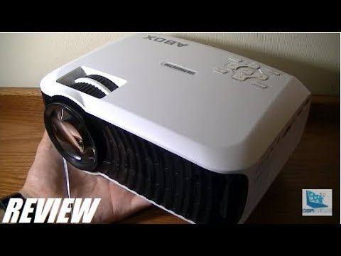 REVIEW: ABOX T22 HD Mini LED Projector [2017]