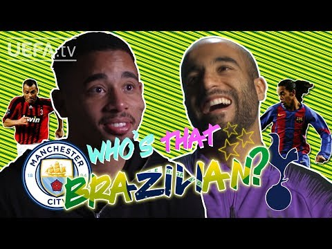 GABRIEL JESUS & LUCAS MOURA play 'WHO'S THAT BRAZILIAN?'