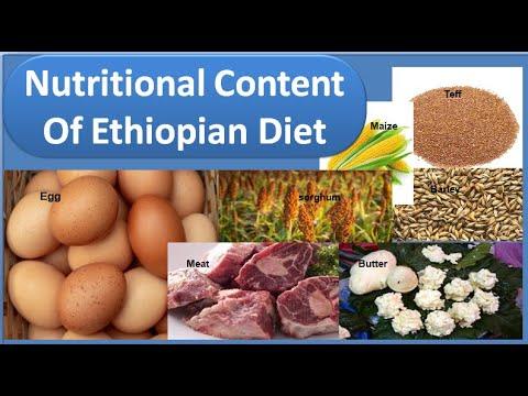 Nutritional Content Of Ethiopian Diet