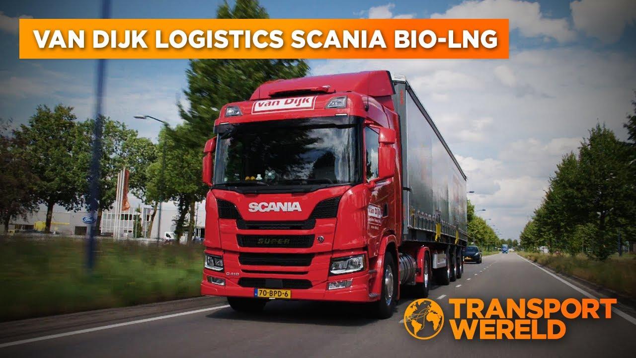 Scania BIO-LNG met Van Dijk Logistics