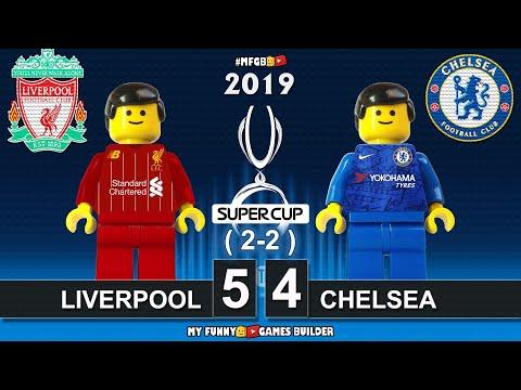 Uefa Super Cup 2019 • Liverpool vs Chelsea 2-2 PEN (5-4) 🏆 All Goals Highlights Lego Football Film