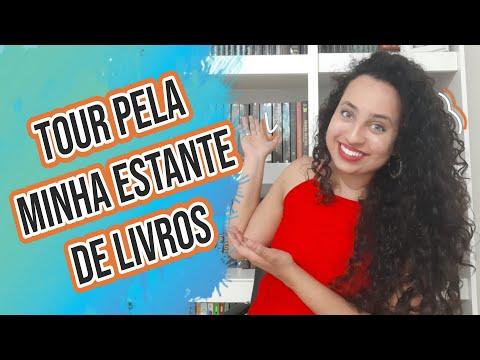 Tour pela minha estante de livros | Karina Nascimento