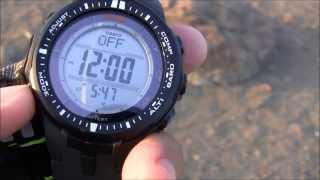 Casio ProTrek PRW3000 Watch Review