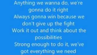 Bratz Genie Magic - Invinsible Lyrics