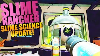 Slime Rancher - NEW SLIME SCIENCE UPDATE, FINDING PODS & UNLOCKING GADGETS - Slime Rancher Gameplay