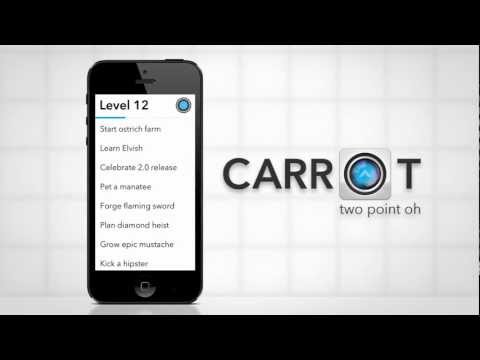 Sadistic To-Do App CARROT Adds Alerts And Mini-Games
