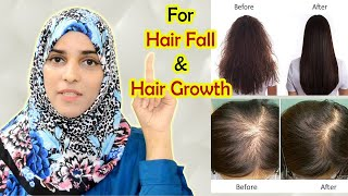 10  Remedies To STOP HAIR FALL & INCREASE HAIR GROWTH