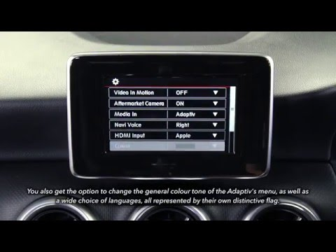 Mercedes Benz A-Class (2013) Adaptiv User Guide