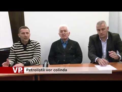 Petroliștii vor colinda