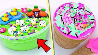 EXTREME SLIME MAKEOVERS! Fixing Old Instagram SLIME!