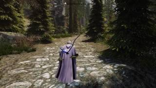 The Great Forest of Whiterun Hold-Skyrim Special Edition-Mod(巨大的白漫領森林)