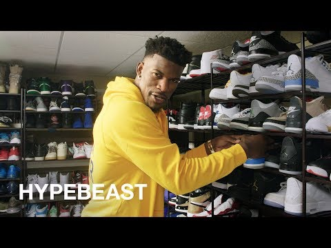 ee95e68d3b3 HYPEBEAST Visits  Jimmy Butler Shows Us His Jordan Collection and Outfits  for NBA Playoffs