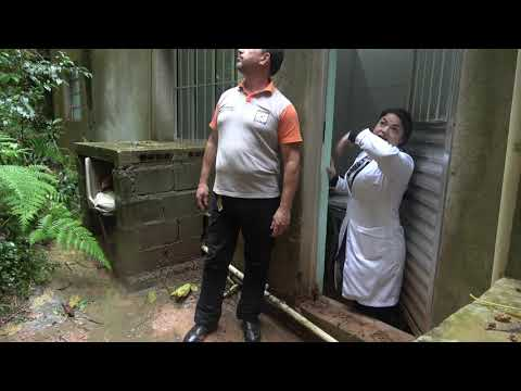 Defesa Civil de Juquitiba no Postinho de Saúde da Favela do Justinos