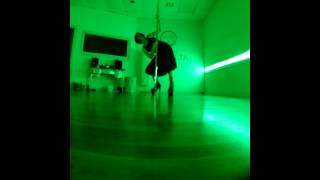 "Contemporary Freestyle Pole Dance in a Skirt to ""New Death Sensation"" by Acid Bath"
