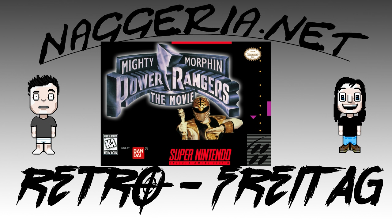 [Retro-Freitag] Mighty Morphin Power Rangers: The Movie (Super Nintendo)