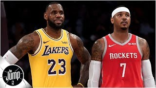 Lakers Trade Michael Beasley And Ivica Zubac For Mike Muscala; Is Carmelo Anthony Next? | The Jump