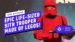 This Insane Lego Sith Trooper Took 250 Hours To Make!