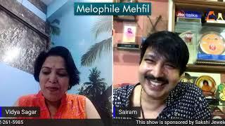 Candid Conversation with Dual Voice singer Sairam Iyer.