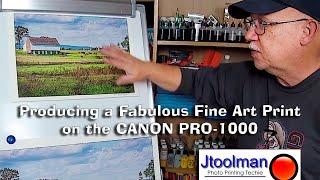 Should You Buy a CANON PRO 1000 or an EPSON SC P800? - Jose