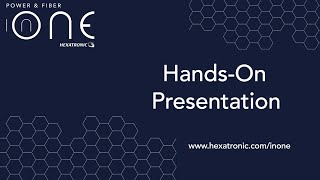 InOne Hands-On Presentation