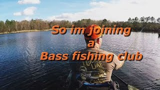 So im joining a bass fishing club