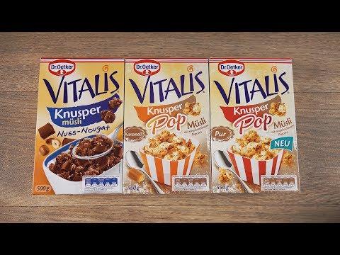 Popcorn Müsli - Dr.Oetker Vitalis