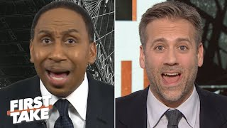 Stephen A. and Max Kellerman get into a heated debate over load management in the NBA | First Take
