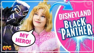 Black Panther Arrives at Disneyland Resort