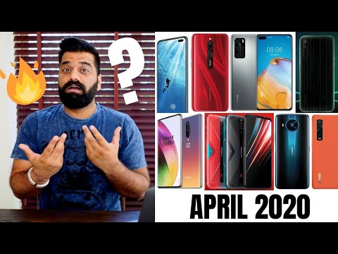 Top Upcoming Smartphones – April 2020