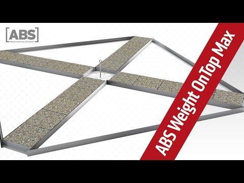 Kompakte Video-Präsentation zum Sekuranten ABS Weight OnTop Max.