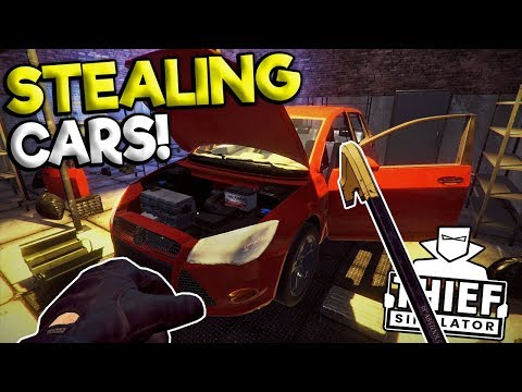 STEALING CARS & ESCAPING THE POLICE! - Thief Simulator Gameplay 2018 - Thief Sim Game