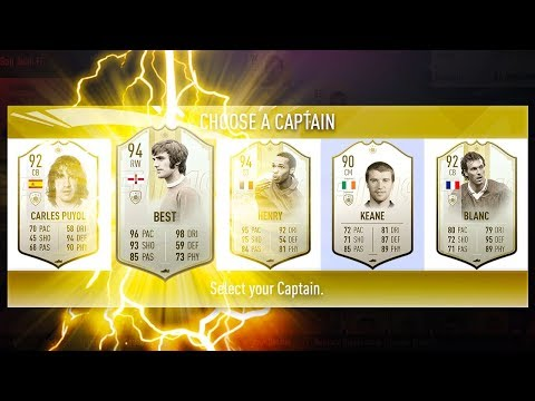 MOST ICONS IN A FUT DRAFT CHALLENGE! - FIFA 19 Ultimate Team