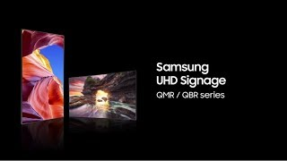 Samsung UHD Signage: Time to upscale your display
