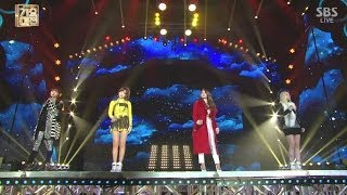 2NE1_1229_SBS Gayo Daejun_그리워해요(MISSING YOU)+DO YOU LOVE ME