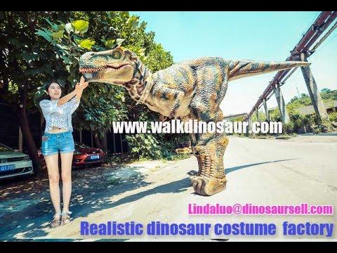 realistische dinosaurus kostuum,dinosaurus kostuum volwassen