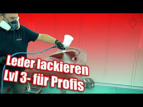 Leder Restaurieren & Lackieren - Lvl 3 für Profis | Colourlock | AUTOLACKAFFEN | Anleitung DIY