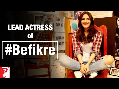 Vaani Kapoor as the LEAD ACTRESS of Aditya Chopra's Befikre
