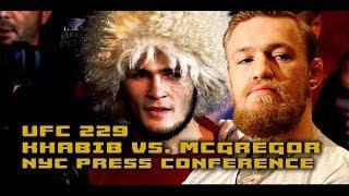 UFC 229 Press Conference: Conor McGregor vs. Khabib Nurmagomedov