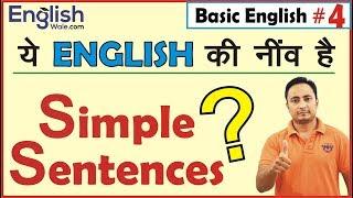 Simple Sentences सीखें| English Grammar Lesson for Beginners