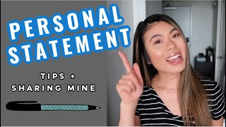 Personal Statement Tips + Reading MY Personal Statement // LauraSmiles