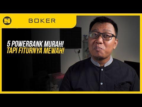 Rekomendasi 5 PowerBank Keren Dengan FAST CHARGING!