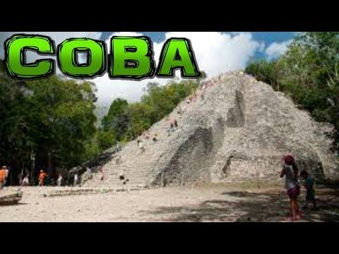 COBA Mayan Ruins Mexico 4K