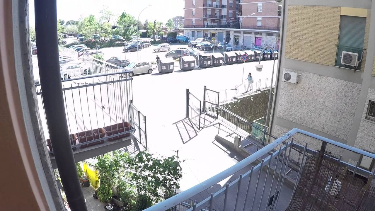 3 Rooms for rent in bright apartment with balcony in Tiburtina area